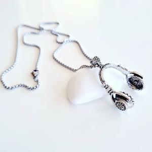 Halsband HIP HOP med hörlurar