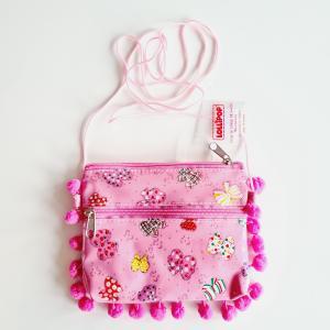 Väska med pompom