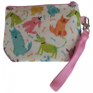 Handledsväska med gulligt mönster